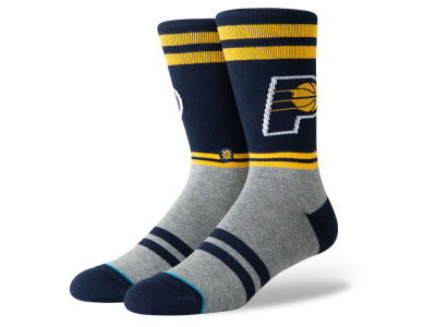 Indiana Pacers Stance NBA City Gym Crew Socks