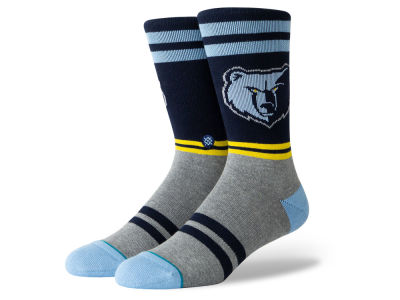 Memphis Grizzlies Stance NBA City Gym Crew Socks