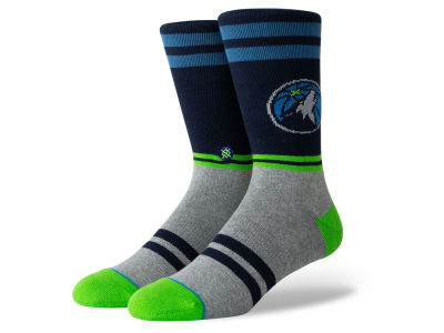 Minnesota Timberwolves Stance NBA City Gym Crew Socks