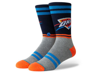 Oklahoma City Thunder Stance NBA City Gym Crew Socks