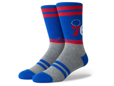Philadelphia 76ers Stance NBA City Gym Crew Socks
