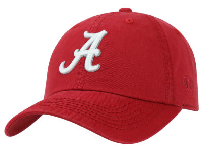Alabama Crimson Tide Top of the World NCAA Crew Adjustable Cap V