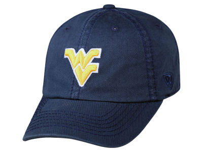 West Virginia Mountaineers Top of the World NCAA Crew Adjustable Cap V