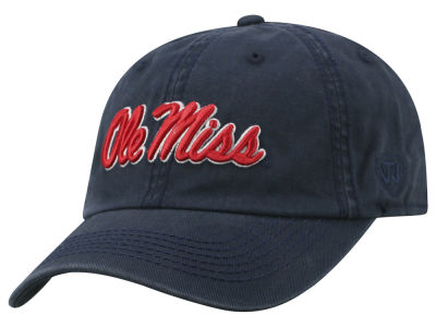 Ole Miss Rebels Top of the World NCAA Crew Adjustable Cap V