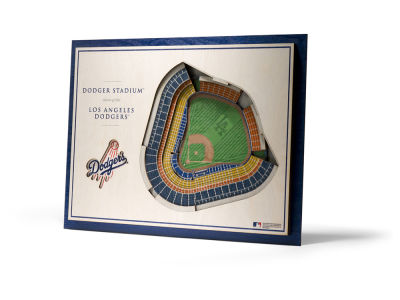 Los Angeles Dodgers 5 Layer Stadiumviews 3D Wall Art
