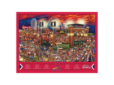 St. Louis Cardinals Puzzle Joe Journeyman