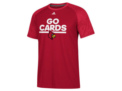 Louisville Cardinals adidas NCAA Men's Sideline Say It Loud Raglan T-Shirt