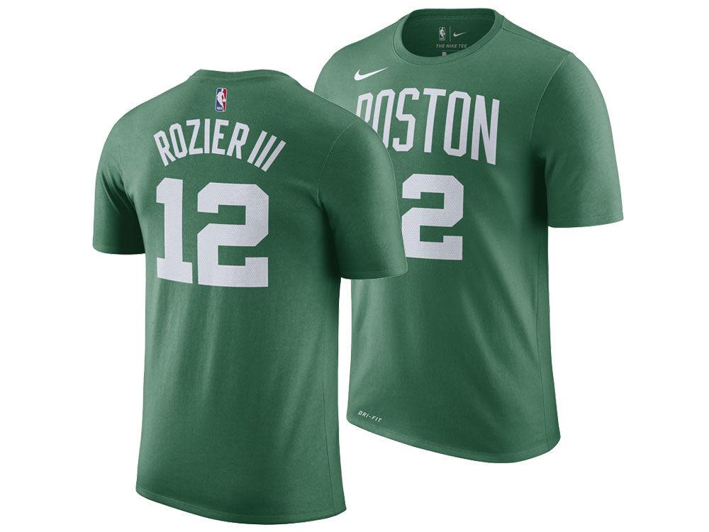 Boston Celtics Terry Rozier Nike NBA Men s Icon Player T-shirt ... 49c7716a3