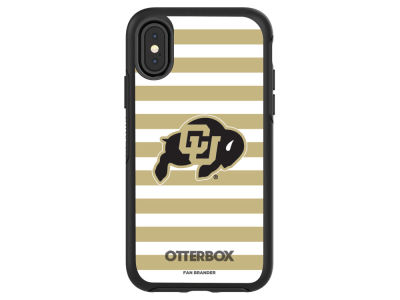 Colorado Buffaloes OtterBox iPhoneX Otterbox Symmetry Case