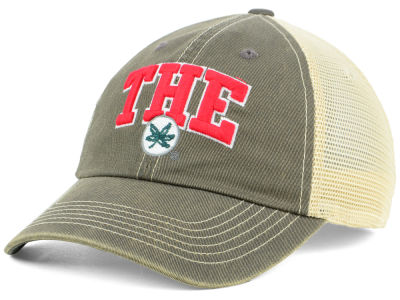 Top of the World NCAA THE Buckeye Leaf Adjustable Cap Hats