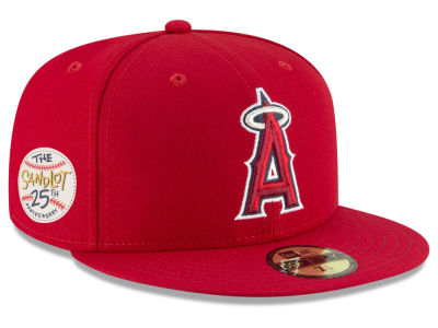 Los Angeles Angels New Era MLB Sandlot Patch 59FIFTY Cap