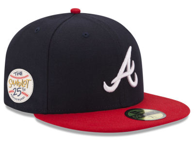 Atlanta Braves New Era MLB Sandlot Patch 59FIFTY Cap