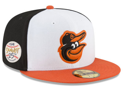 Baltimore Orioles New Era MLB Sandlot Patch 59FIFTY Cap