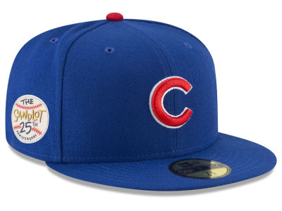 Chicago Cubs New Era MLB Sandlot Patch 59FIFTY Cap