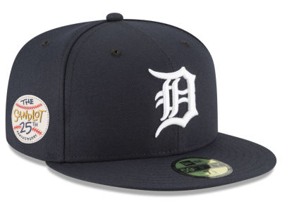 Detroit Tigers New Era MLB Sandlot Patch 59FIFTY Cap
