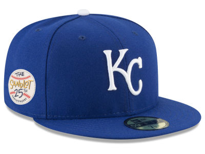 Kansas City Royals New Era MLB Sandlot Patch 59FIFTY Cap