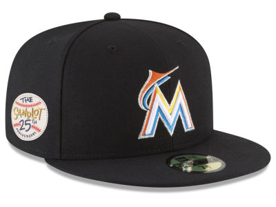 Miami Marlins New Era MLB Sandlot Patch 59FIFTY Cap