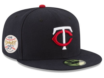 Minnesota Twins New Era MLB Sandlot Patch 59FIFTY Cap