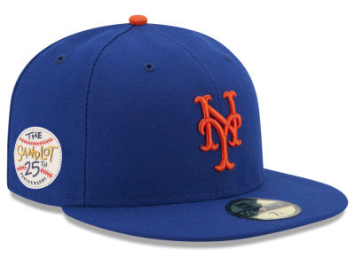 New York Mets New Era MLB Sandlot Patch 59FIFTY Cap