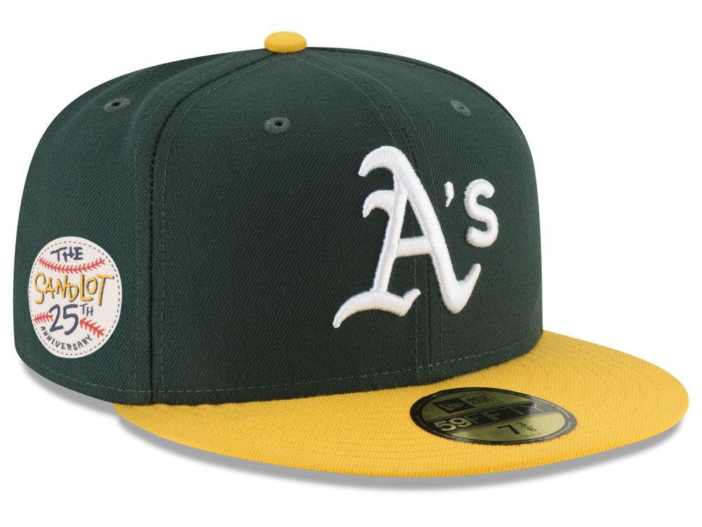 942438aabce Oakland Athletics New Era MLB Sandlot Patch 59FIFTY Cap