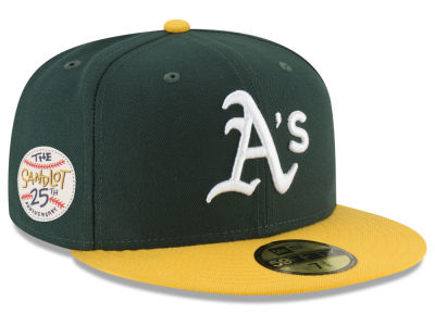 Oakland Athletics New Era MLB Sandlot Patch 59FIFTY Cap