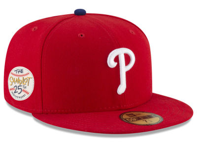 Philadelphia Phillies New Era MLB Sandlot Patch 59FIFTY Cap