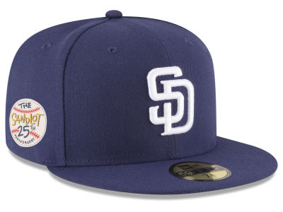 San Diego Padres New Era MLB Sandlot Patch 59FIFTY Cap