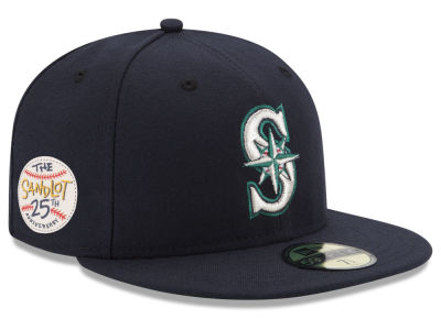 Seattle Mariners New Era MLB Sandlot Patch 59FIFTY Cap