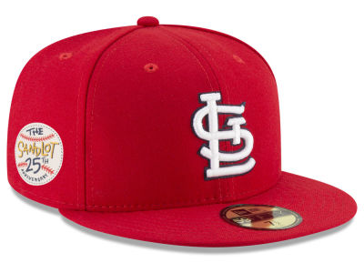 St. Louis Cardinals New Era MLB Sandlot Patch 59FIFTY Cap