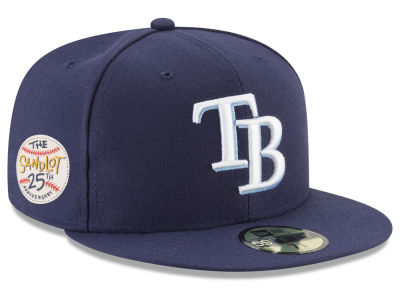 Tampa Bay Rays New Era MLB Sandlot Patch 59FIFTY Cap