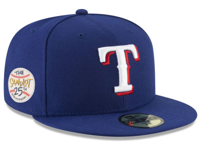 Texas Rangers New Era MLB Sandlot Patch 59FIFTY Cap
