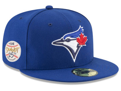 Toronto Blue Jays New Era MLB Sandlot Patch 59FIFTY Cap