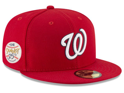 Washington Nationals New Era MLB Sandlot Patch 59FIFTY Cap