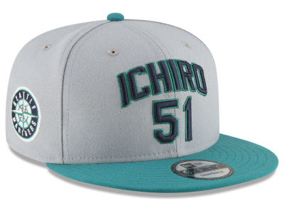 Seattle Mariners New Era MLB Ichiro Pack 9FIFTY Snapback Cap