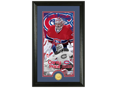 Montreal Canadiens Carey Price Highland Mint Supreme Bronze Coin Photo Mint V