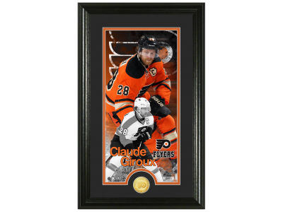 Philadelphia Flyers Claude Giroux Highland Mint Supreme Bronze Coin Photo Mint V