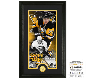 Pittsburgh Penguins Evgeni Malkin Highland Mint Supreme Bronze Coin Photo Mint V