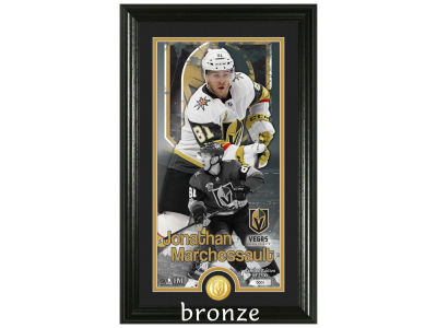 Vegas Golden Knights Jonathan Marchessault Highland Mint Supreme Bronze Coin Photo Mint V