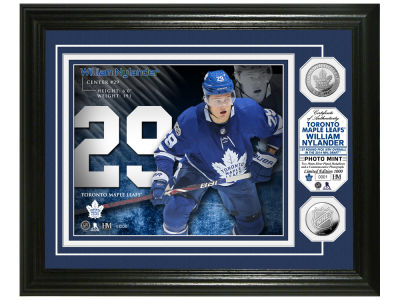 Toronto Maple Leafs William Nylander Highland Mint Bronze Coin Photo Mint