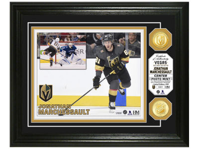 Vegas Golden Knights Jonathan Marchessault Highland Mint Bronze Coin Photo Mint