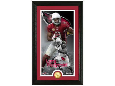 Arizona Cardinals Larry Fitzgerald Highland Mint Supreme Bronze Coin Photo Mint V