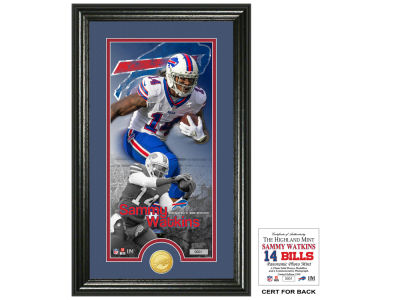 Buffalo Bills Sammy Watkins Highland Mint Supreme Bronze Coin Photo Mint V