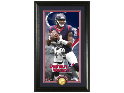 Houston Texans Deshaun Watson Highland Mint Supreme Bronze Coin Photo Mint V