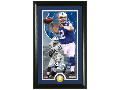 Highland Mint Andrew Luck Supreme Bronze Coin Photo Mint V