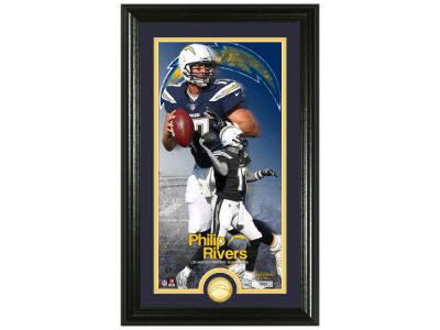 Los Angeles Chargers Philip Rivers Highland Mint Supreme Bronze Coin Photo Mint V