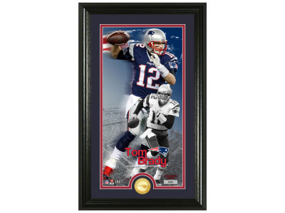 New England Patriots Tom Brady Highland Mint Supreme Bronze Coin Photo Mint V