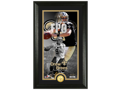 New Orleans Saints Drew Brees Highland Mint Supreme Bronze Coin Photo Mint V