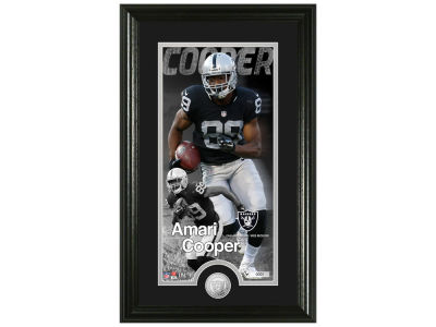 Oakland Raiders Amari Cooper Highland Mint Supreme Bronze Coin Photo Mint V