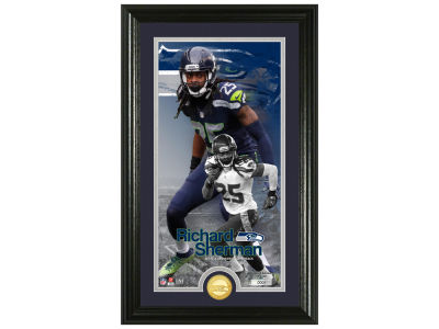 Seattle Seahawks Richard Sherman Highland Mint Supreme Bronze Coin Photo Mint V