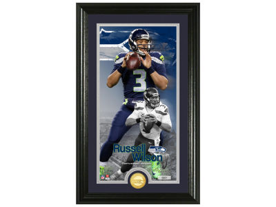 Seattle Seahawks Russell Wilson Highland Mint Supreme Bronze Coin Photo Mint V
